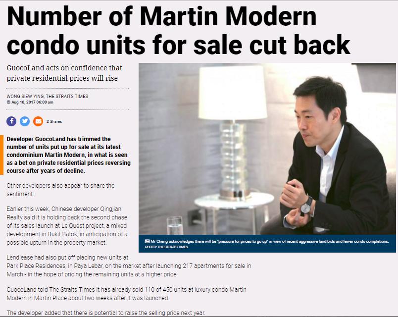 developers halt sales