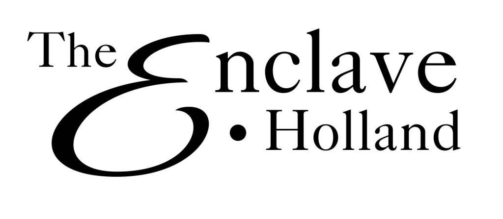 The Enclave logo black